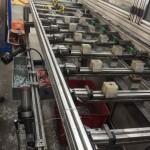 Aluminum drilling machine