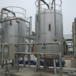 Installation of bio filter deodorizing system